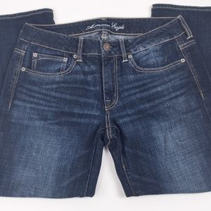 American Eagle Jeans Size 6 Boy Fit Relaxed Low Ri
